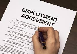 The employment act states that every person must have a written employment agreement. SMLaw are your emplyment lawyers.